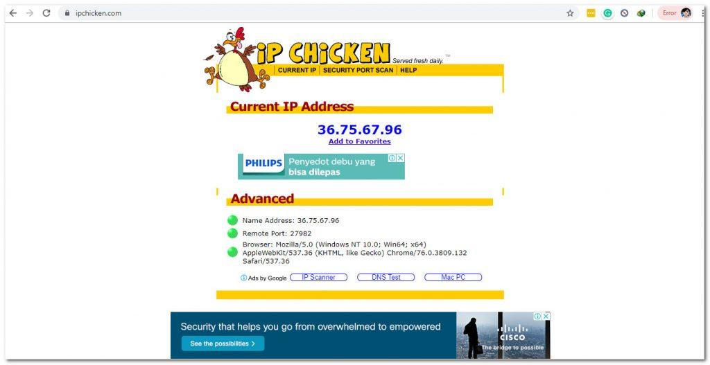 6 IP Address Checker Sites 3 Internet