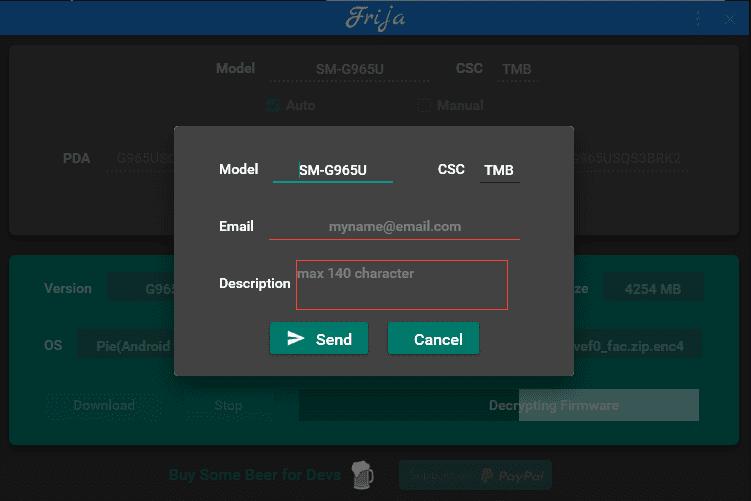 Download Samsung Frija Tool v1.3.0: A Firmware Downloader 2 Android
