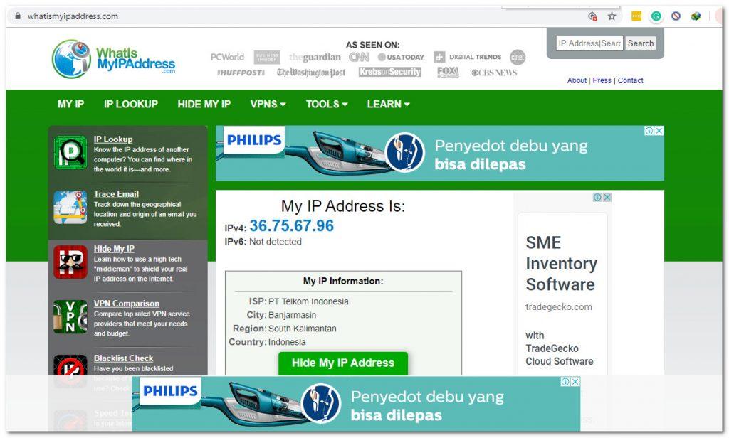 6 IP Address Checker Sites 5 Internet