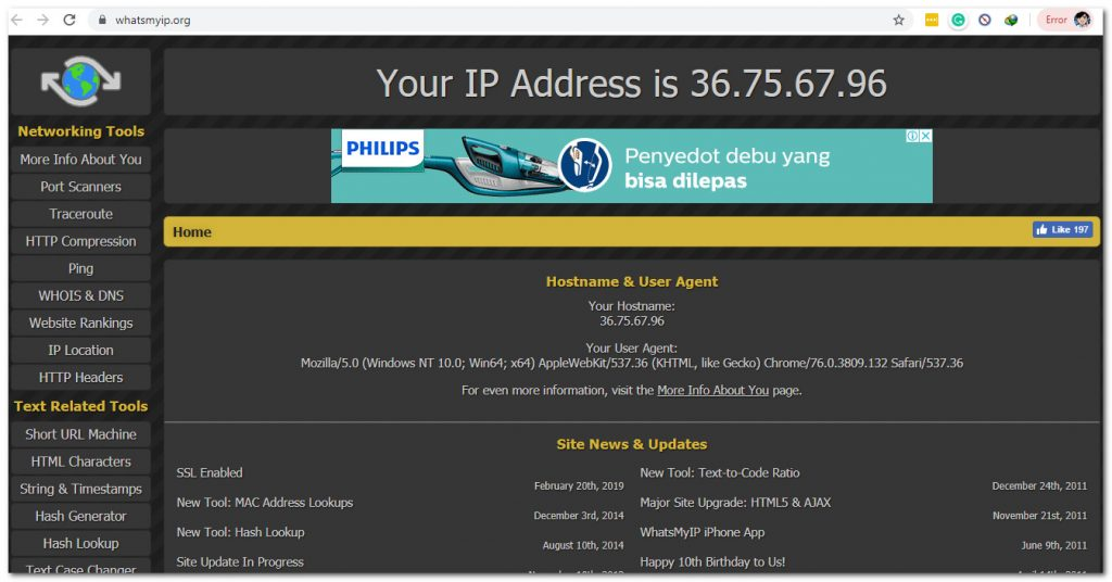 6 IP Address Checker Sites 7 Internet